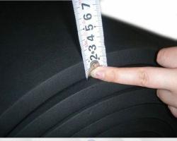 40кг/м3 Rubber-Plastic короткого замыкания в мастерской, резиновые прокладки из пеноматериала короткого замыкания в мастерской, резиновые губка короткого замыкания в мастерской (3A5004)