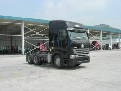 On-Highway Sinotruk HOWO 371 HP Semi-Trucks On Sale