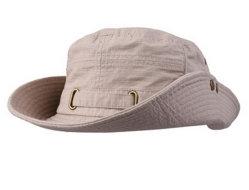 صناعة محترفة عادي قطن خاكي عادي قبعة قبعة قبعة مع أدوات معدنية