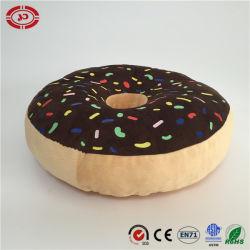 Donut Super Soft Imprimir pan 100% algodón cojín Peluche de PP