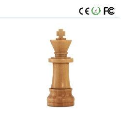 قرص فلاش Wooden Chess U Disk Walnut Maple USB