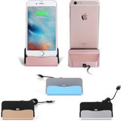 Synchronisation et de charge station Dock chargeur de bureau pour Apple iPhone 6 6s 6 Plus le support du chargeur