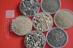 La horticultura de la agricultura utiliza vermiculita cruda
