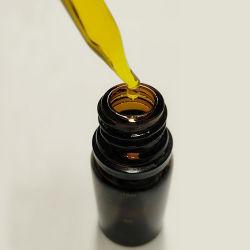 1ml de 2ml de 3ml 5 ml Amber Empty Atomizador Óleo Essencial de frasco de vidro de perfume frasco de vidro com tampa de plástico