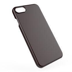 El iPhone 8 caso difícil de vuelta en blanco PC Phone caso para el iPhone 8plus