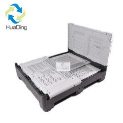 Caixa de paletes de plástico dobrável 1200*1000*1000mm