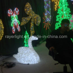 LEDのガチョウのモチーフライトは販売のためのクリスマスの装飾を飾った