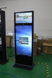 27дюймов и 49-дюймовый сенсорный экран двойного назначения без постоянного цифровой ЖК-дисплей рекламы киоск с камеры