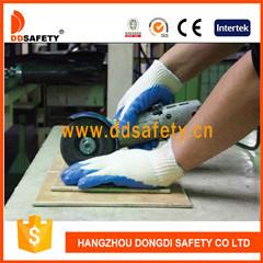 乳液上塗を施してあるサンディによって終えられる労働の保護スリップ防止作業手袋