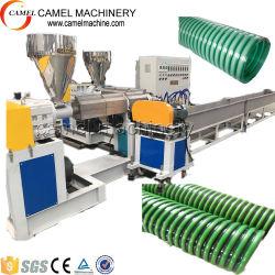 PVC螺線形の鋼線の補強された透過ホースの生産ライン機械