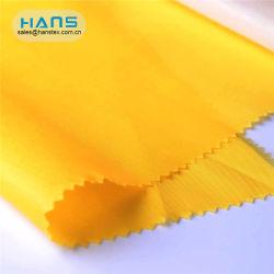 Hans fournisseur chinois Sandwiches taffetas de polyester Tissu de doublure