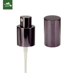 L'eau lisse du pulvérisateur côtelée fine brume avec la pompe de pulvérisation liquide clair 18/415 24/410 28/410 PP