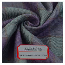 100 polyester Tissu en fibre de polyester pour les vêtements