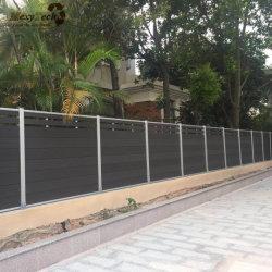 Großhandel Günstige Garten WPC Aluminium Composite Zaun Paneele für Garten
