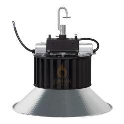 montaggio pendant dell'indicatore luminoso della baia del baldacchino LED della fabbrica di 150lm/W 150W Inudstrial alto per l'illuminazione del supermercato del gruppo di lavoro del magazzino dello stadio dell'interno