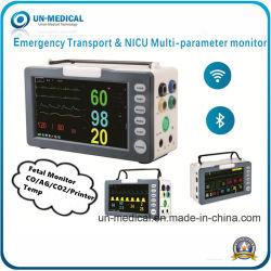 Медицинской помощи портативный ухода за пациентом Multi-Parameter ЭКГ монитора пациента