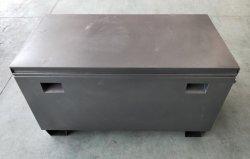 Carretilla de acero pesado trabajo de la Caja de Herramientas con empuñadura de la caja de herramientas del sitio