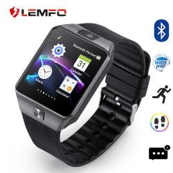 Lemfo DZ09 Support Smart regarder la carte SIM La carte de TF Smartwatch DZ09 Rappel avec multi-langues pour Ios téléphone Android