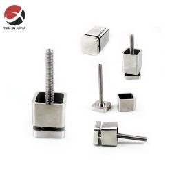 Fabricante OEM personalizadas de fundição de precisão da ANSI/ DIN/ norma JIS SS304 aço inoxidável 316 parafusos de ressalto do suporte de vidro da barra de Hardware do ressalto quadrado