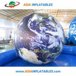 팽창식 행성 풍선 지구 지구 달 헬륨 풍선