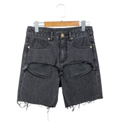 Shorts Jeans Moda Verão Cut offs Shorts Casual Mulheres Denim (S001W)