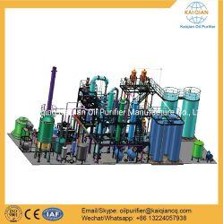 使用されたエンジンオイルを精製する重慶の蒸留機械