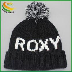 Auditar o inverno quente velo acolhedor Beanie Skully Malha Hat