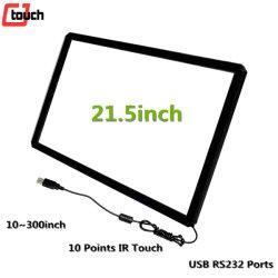 Affichage LCD Moniteur industriel 21.5pouces téléviseur intelligent de l'éducation Kiosque de tableau blanc USB RS232 HDMI IR 10points écran tactile