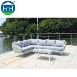 Rattan Sofa Set Outdoor-Möbel Sectional Sofa Set Gartenmöbel