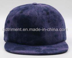 Rebord plat populaire à l'aise Tie-Dye Denim Casquette de baseball Sports de balle PAC (TMB6701)
