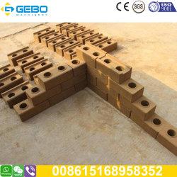 Macchinario di collegamento dei mattoni della strumentazione trattata di quarto 2-10 dell'argilla della macchina idraulica del mattone