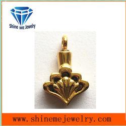 Novo design do coração Bijuterias ouro com diamante