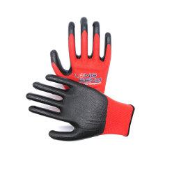 Fabricant!13/15/18g Nylon continu spandex polyester doublure mousse lisse Sandy Nitrile enduit de finition de la sécurité des gants de travail