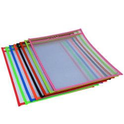 Cores sortidas PVC clara a bolsa de apagamento bolsos