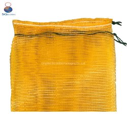 Фрукты упаковки овощей сетка Net ОРАНЖЕВОГО ЦВЕТА фронтальной подушки безопасности