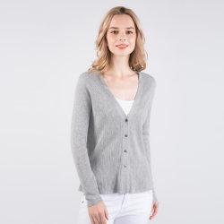 2019 Fashion femmes Maille 85% soie 15 % cachemire Printemps Cardigan