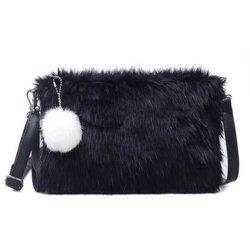 Ifriend 2018 Fashion automne hiver femmes sac messager de l'épaule de l'enveloppe de lapin Crossbody sac de peau sèche les sacs à main