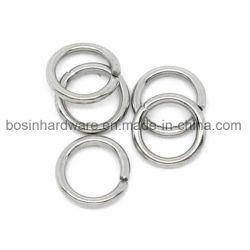 bevindingen van de Ring van de Sprong van 10mm de Zilveren Gespleten