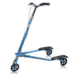 Scooter d'équilibre de sport Trikke pour adultes, véhicule de sculpture à 3 points pliable