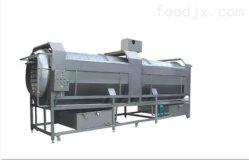 De Reinigingsmachine van het Type van Rol van het roestvrij staal voor de Groente van de Aarde