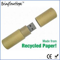 De gerecycleerde Aandrijving van het Geheugen van het Document USB (xh-usb-128)