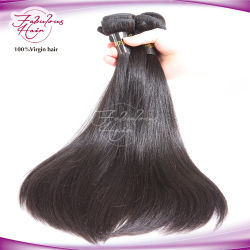 Marché de gros fournisseurs de Guangzhou Cheveux humains Le Tissage de cheveux vierges de Mongolie