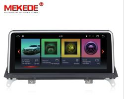 Mekede ID7 Android 7.1 de núcleo cuádruple de coche reproductor de DVD para BMW X5 E70/X6 E71 (2011-2013) Sistema de CIC Original 2G RAM+32g ROM radio del coche