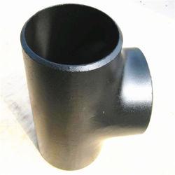 ASME B16.9 Mss Sp 75 Seamless/soldado um234 Wpb ms preto leve t igual de aço carbono da Conexão do Tubo