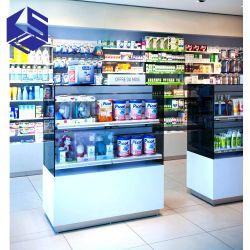 최신 판매 약학 대 나무로 되는 의학 상점 가구