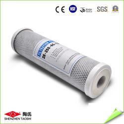 CTO de 10 pulgadas de cartucho de filtro de bloque de carbón activado
