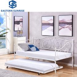 Dia de metal de Casal - Sofá cama de Design de flores