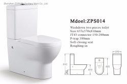 China proveedor wc cuarto de baño Sanitarios de Cerámica de utensilios de aseo aseo lavado P atrapar dos piezas de baño Wc baratos en venta