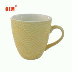 L'utilisation quotidienne de gros de tasse de café gaufré personnalisé
