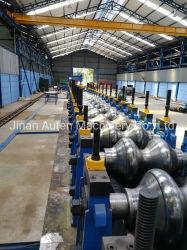 Chapa de aço corrugado profunda CNC Linha de Formação do rolo da máquina para a Chapa de Aço pontes e pontões